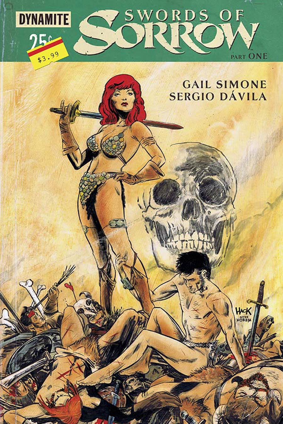 Swords Of Sorrow #1 Cover D Variant Robert Hack Subscription Cover