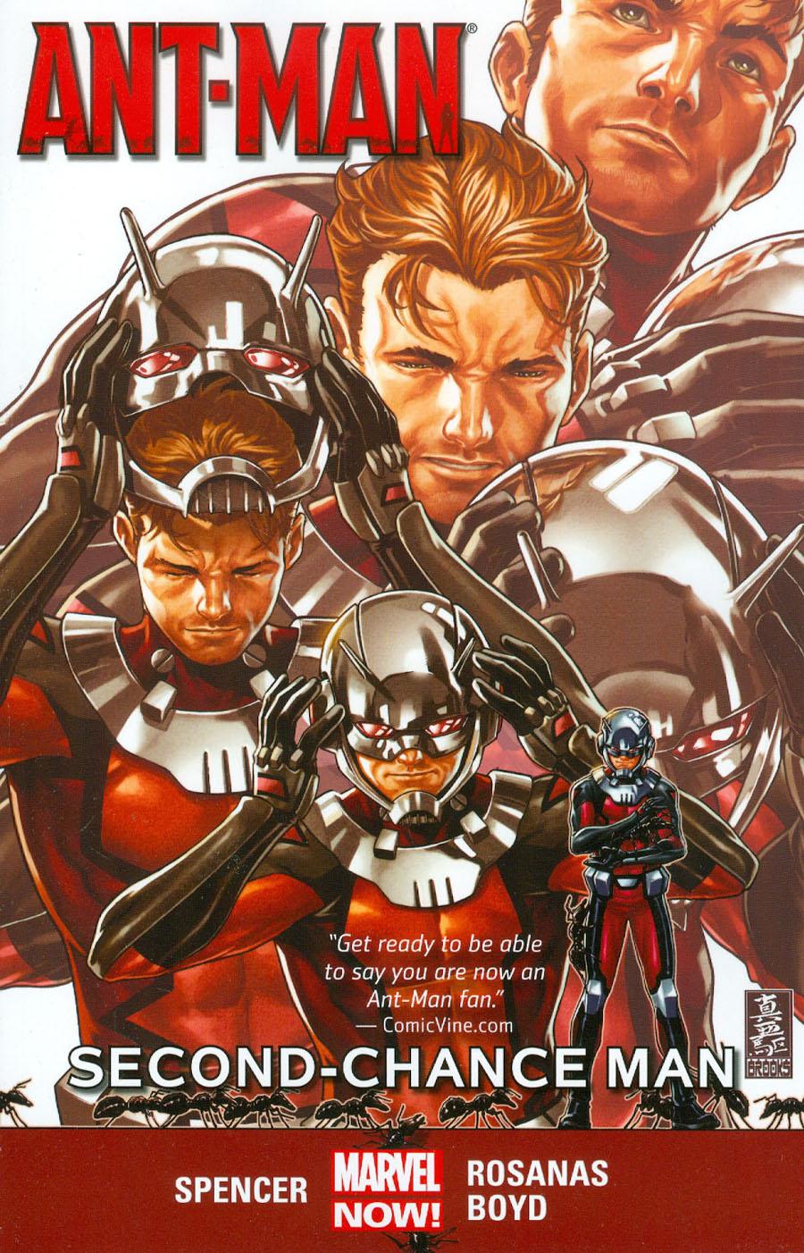 Ant-Man Vol 1 Second-Chance Man TP