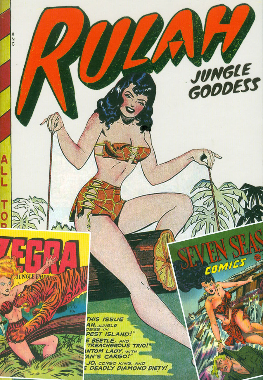 Roy Thomas Presents Rulah Jungle Goddess Vol 3 HC Slipcase Edition