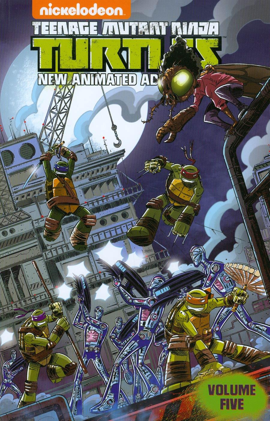 Teenage Mutant Ninja Turtles New Animated Adventures Vol 5 TP