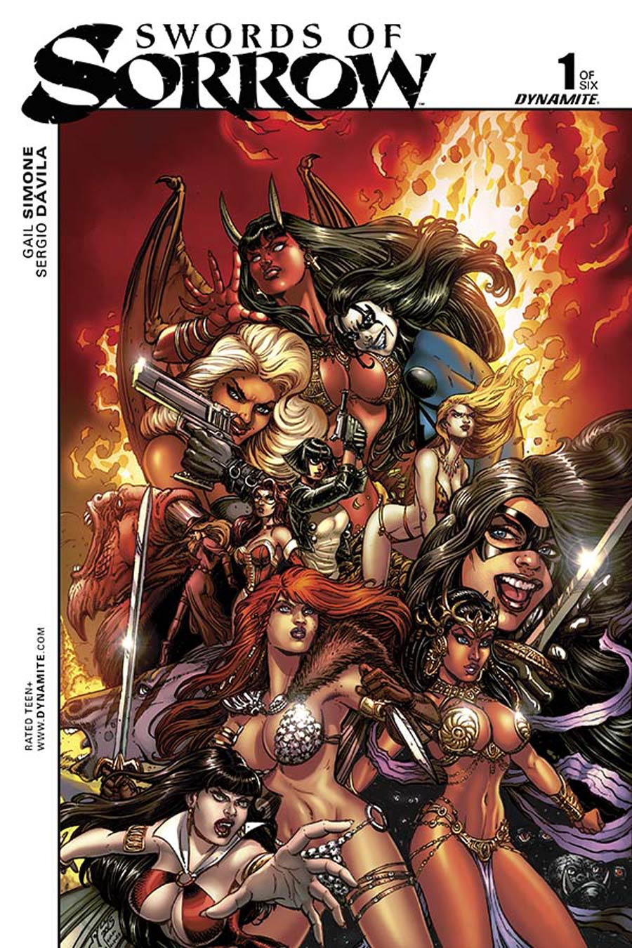 Swords Of Sorrow #1 Cover F Variant Joyce Chin Cover