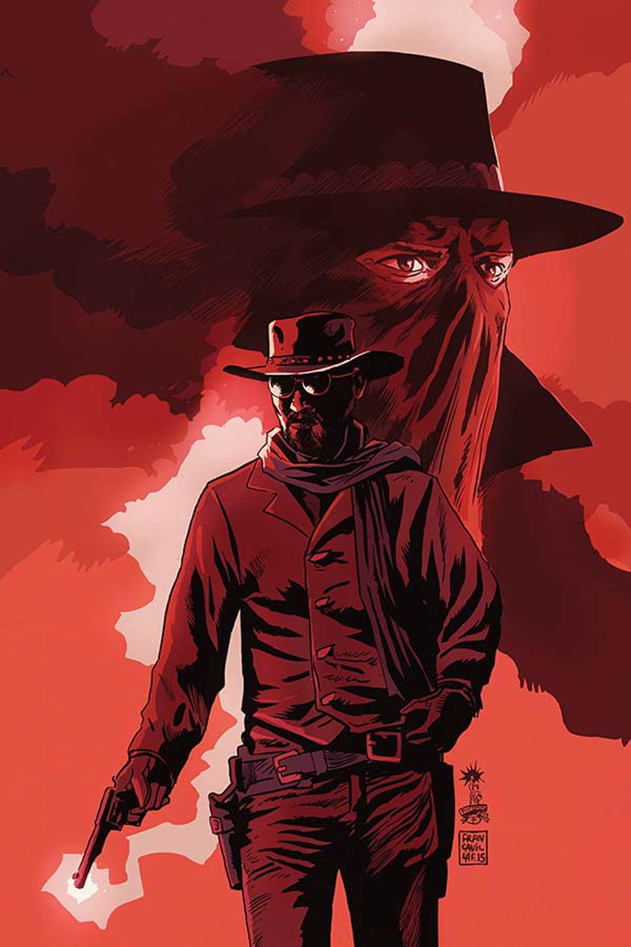 Django Zorro #7 Cover D Incentive Francesco Francavilla Virgin Cover