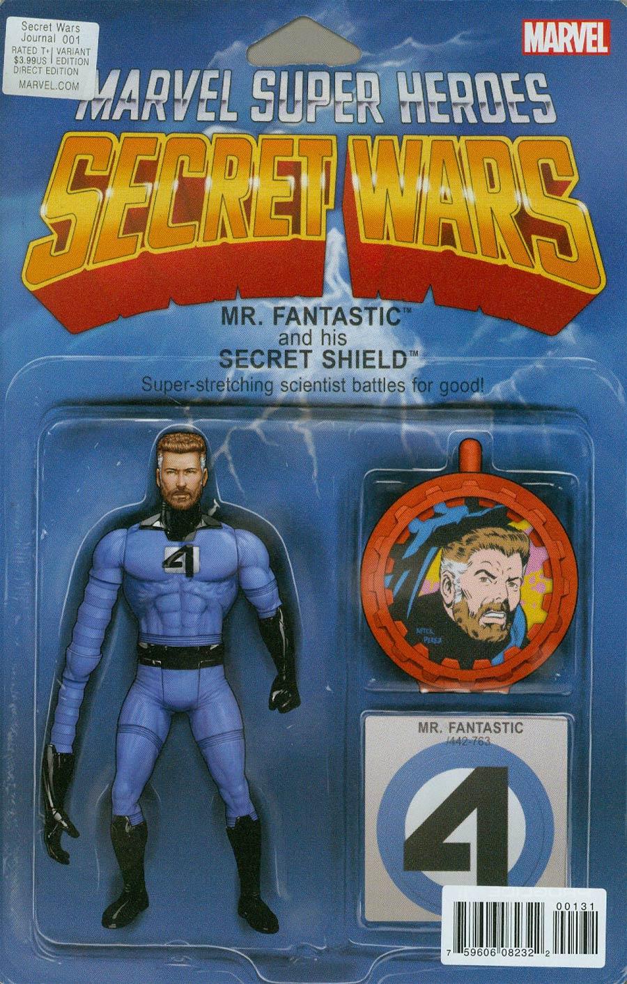 Secret Wars Journal #1 Cover B Variant John Tyler Christopher Action Figure Cover