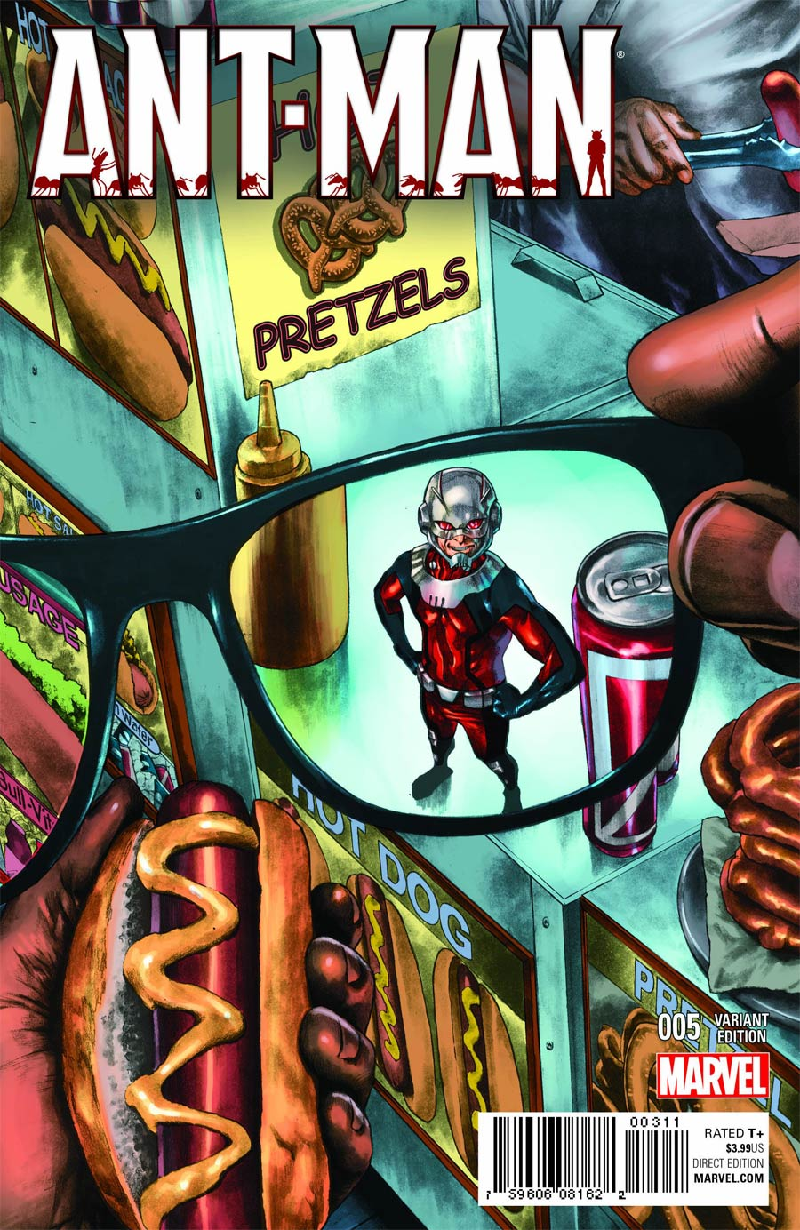 Ant-Man #5 Cover B Variant NYC Cover
