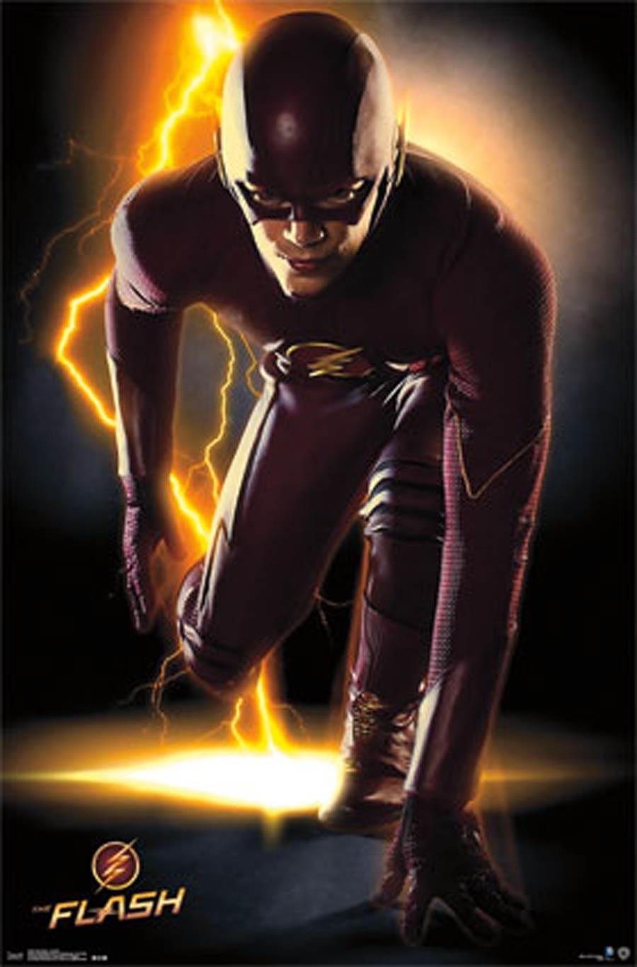 Flash TV Portrait Poster