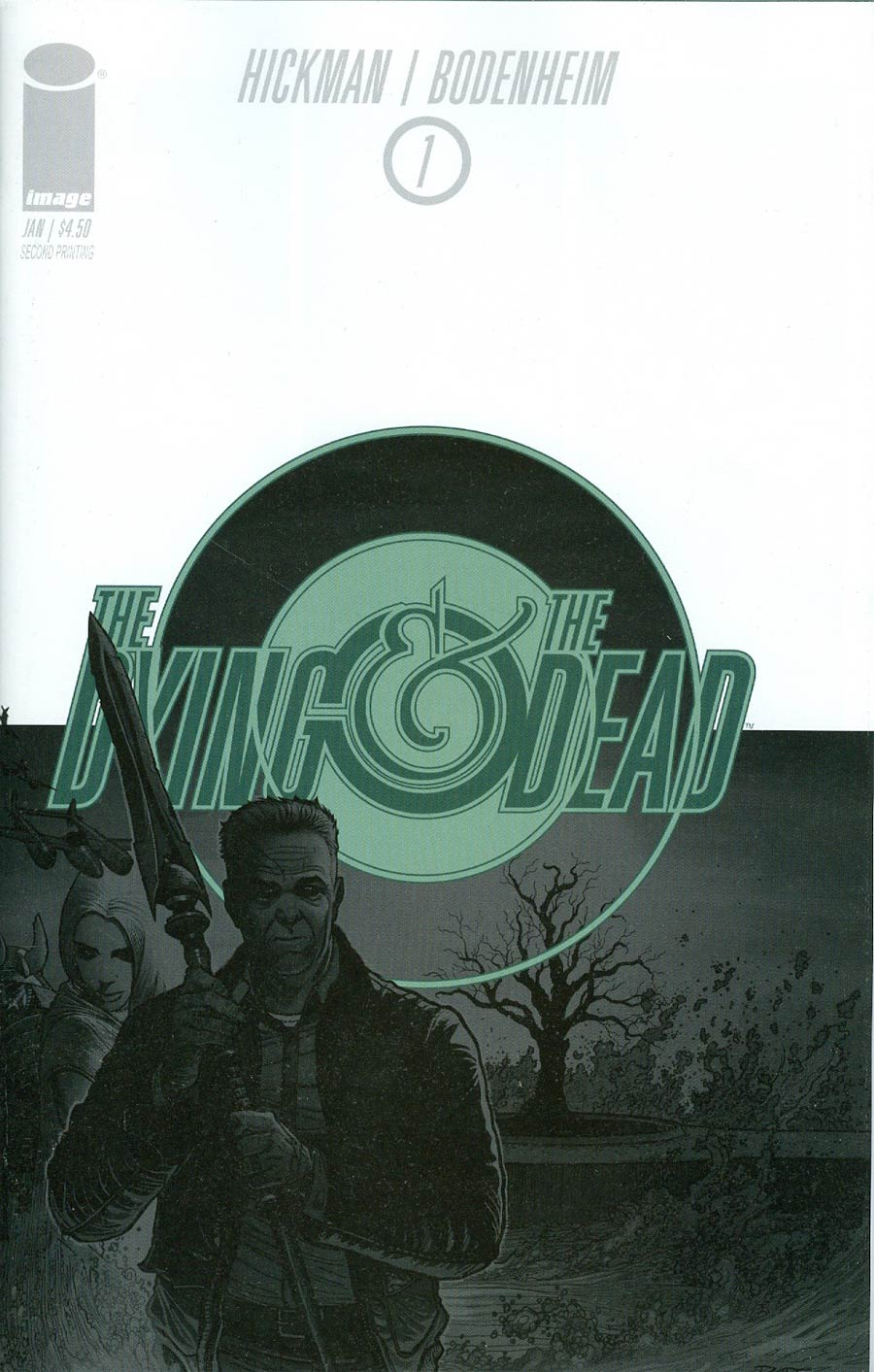 Dying And The Dead #1 Cover B 2nd Ptg Ryan Bodenheim Variant Cover