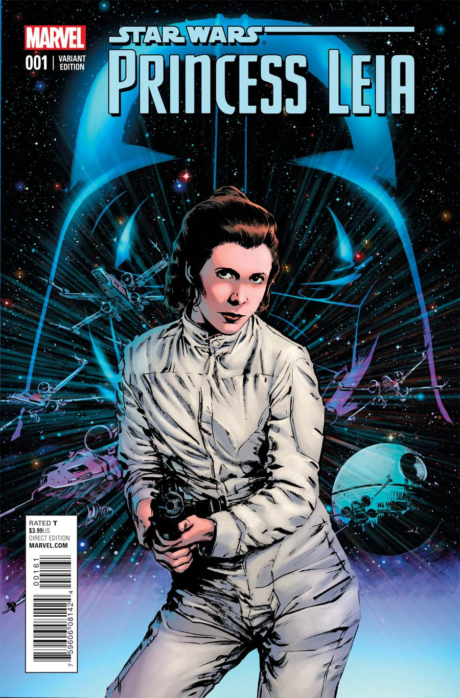 Princess Leia #1 Cover J Incentive Bill Sienkiewicz Variant Cover
