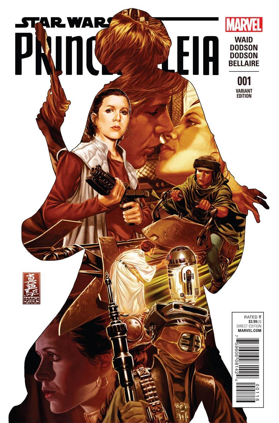 Princess Leia #1 Cover N Incentive Mark Brooks Variant Cover