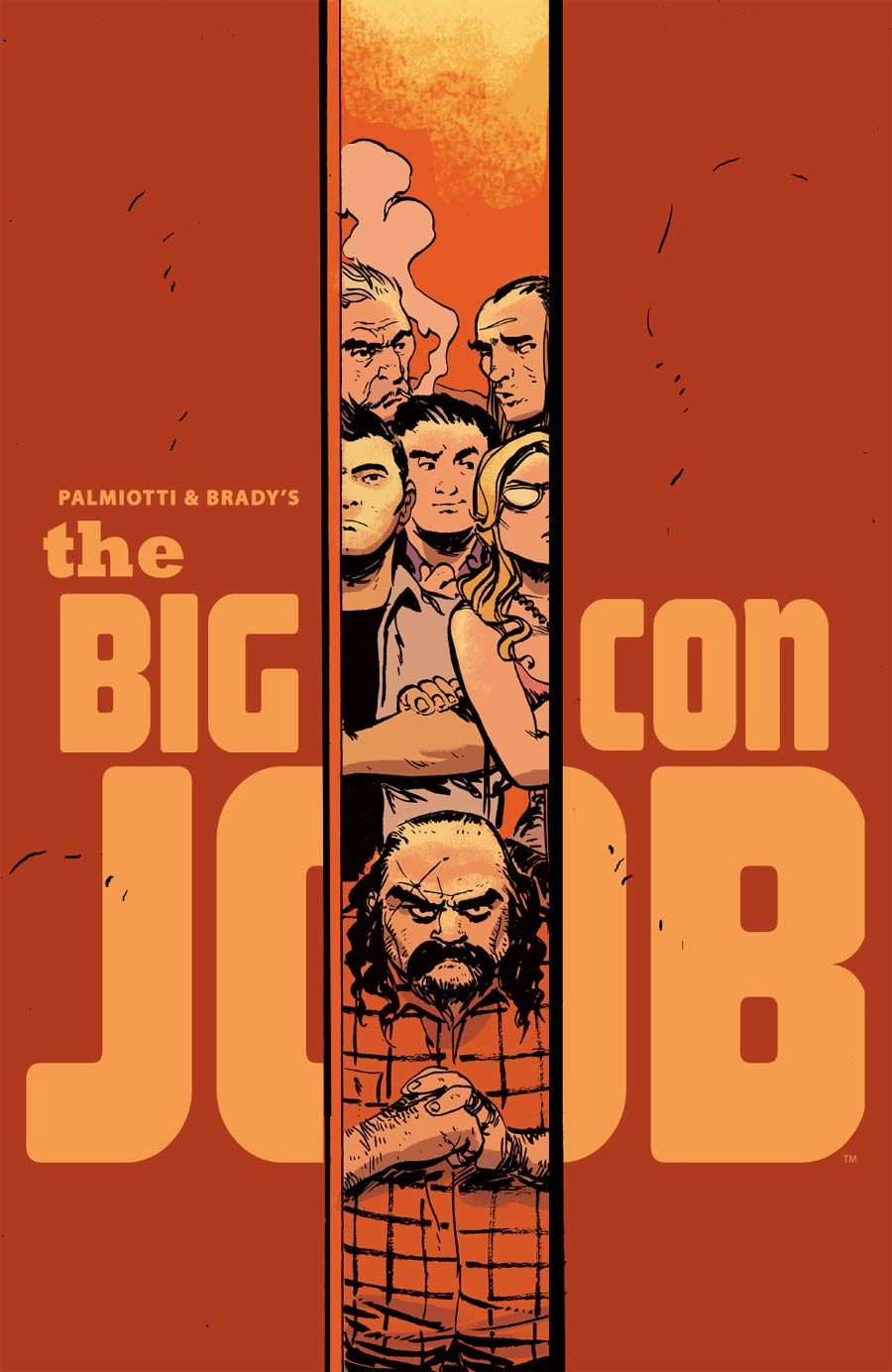 Palmiotti & Bradys Big Con Job #1 Cover D Incentive Dan McDaid Virgin Variant Cover
