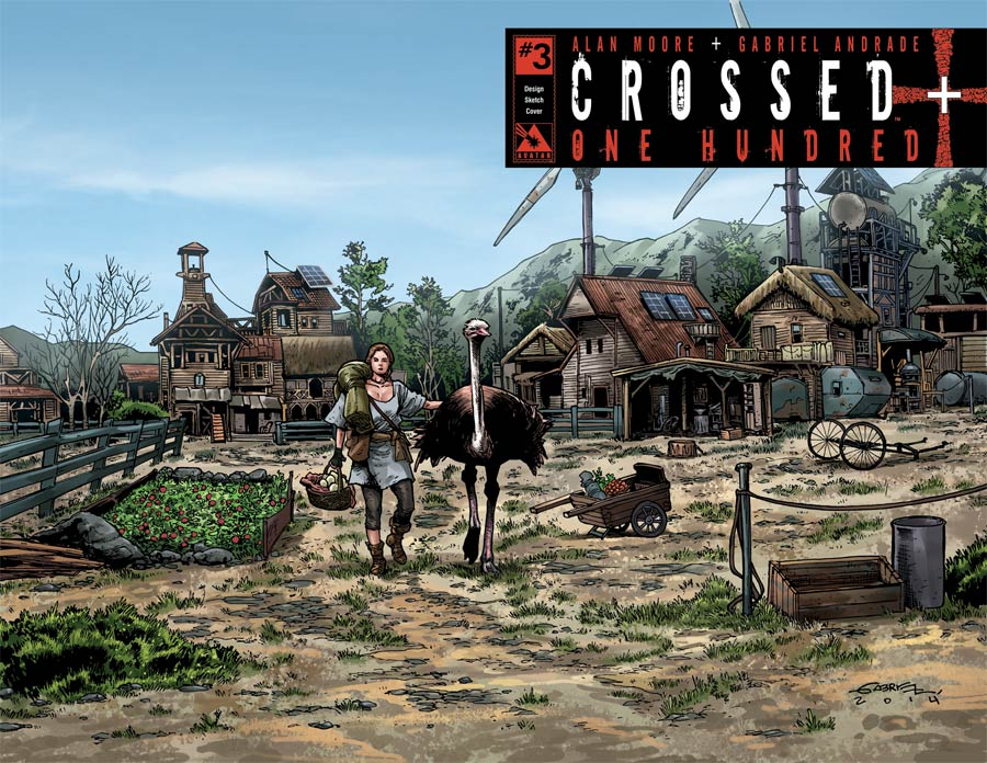 Crossed Plus 100 #3 Cover I Incentive Design Sketch Cover