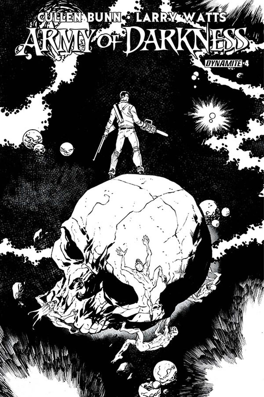 Army Of Darkness Vol 4 #4 Cover E Incentive Tim Seeley Black & White Cover