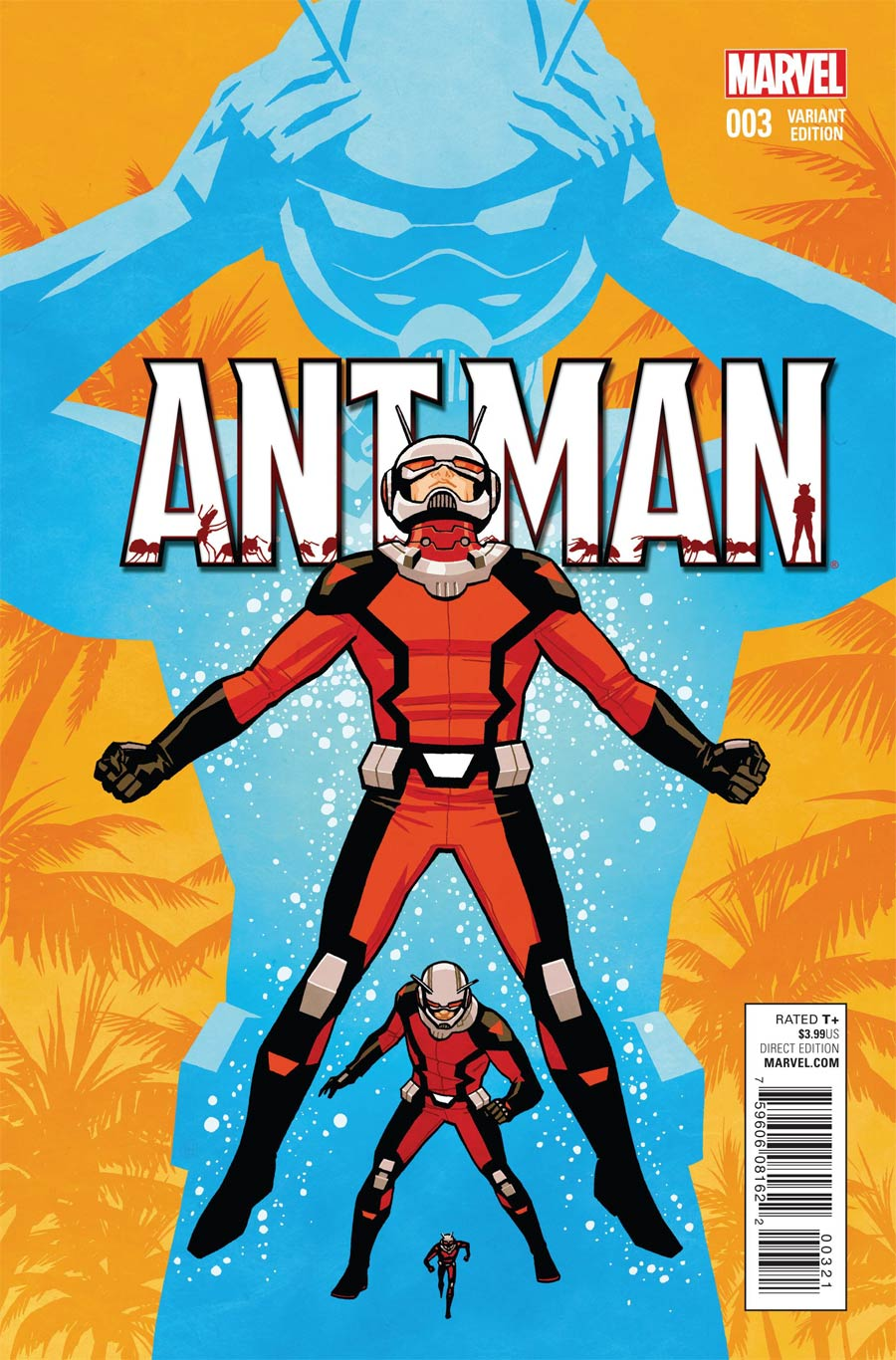 Ant-Man #3 Cover C Incentive Cliff Chiang Variant Cover