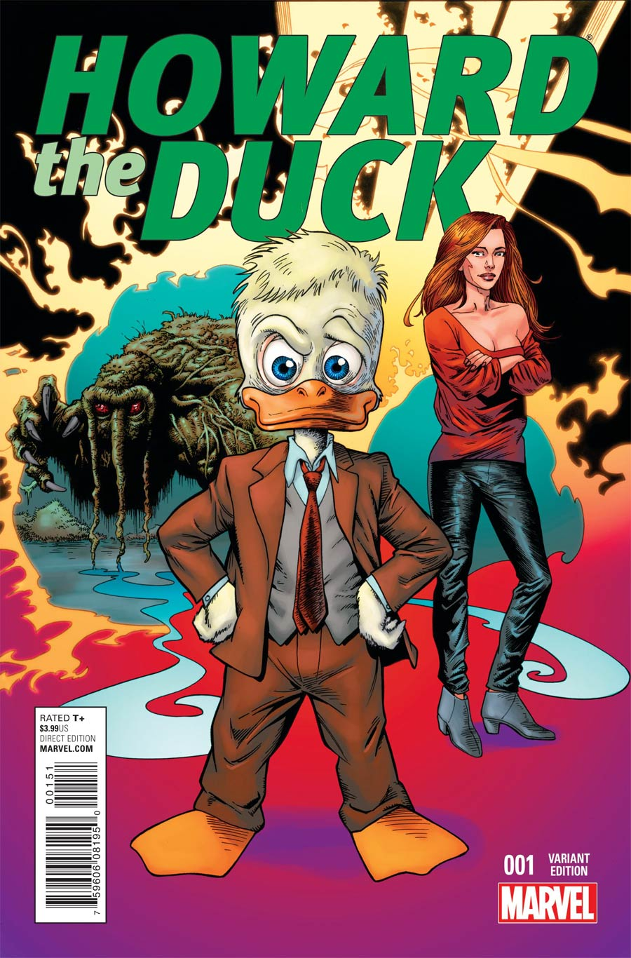 Howard The Duck Vol 4 #1 Cover H Incentive Val Mayerik Variant Cover