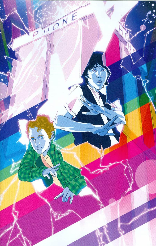 Bill & Teds Most Triumphant Return #1 Cover C Incentive Goni Montes Virgin Variant Cover