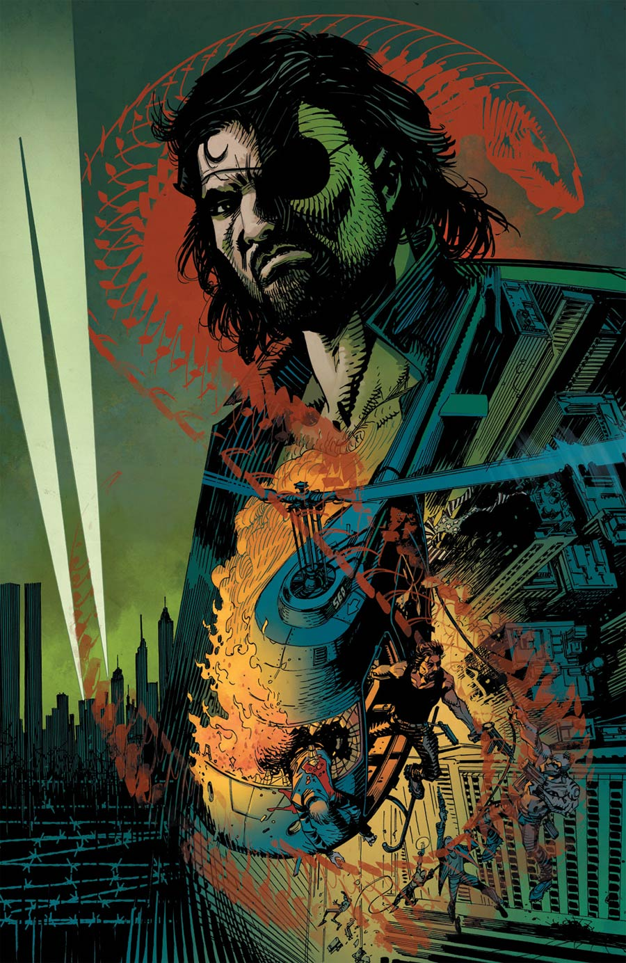 Escape From New York #4 Cover C Incentive John McCrea Virgin Variant Cover