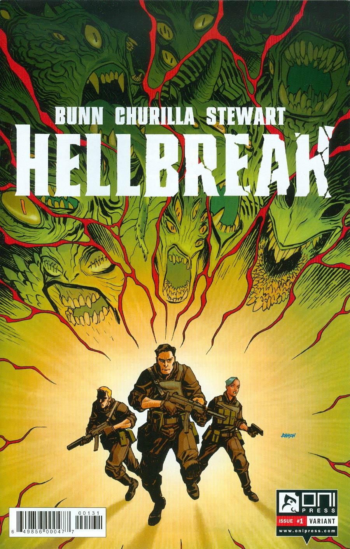 Hellbreak #1 Cover D Variant Dave Johnson Cover