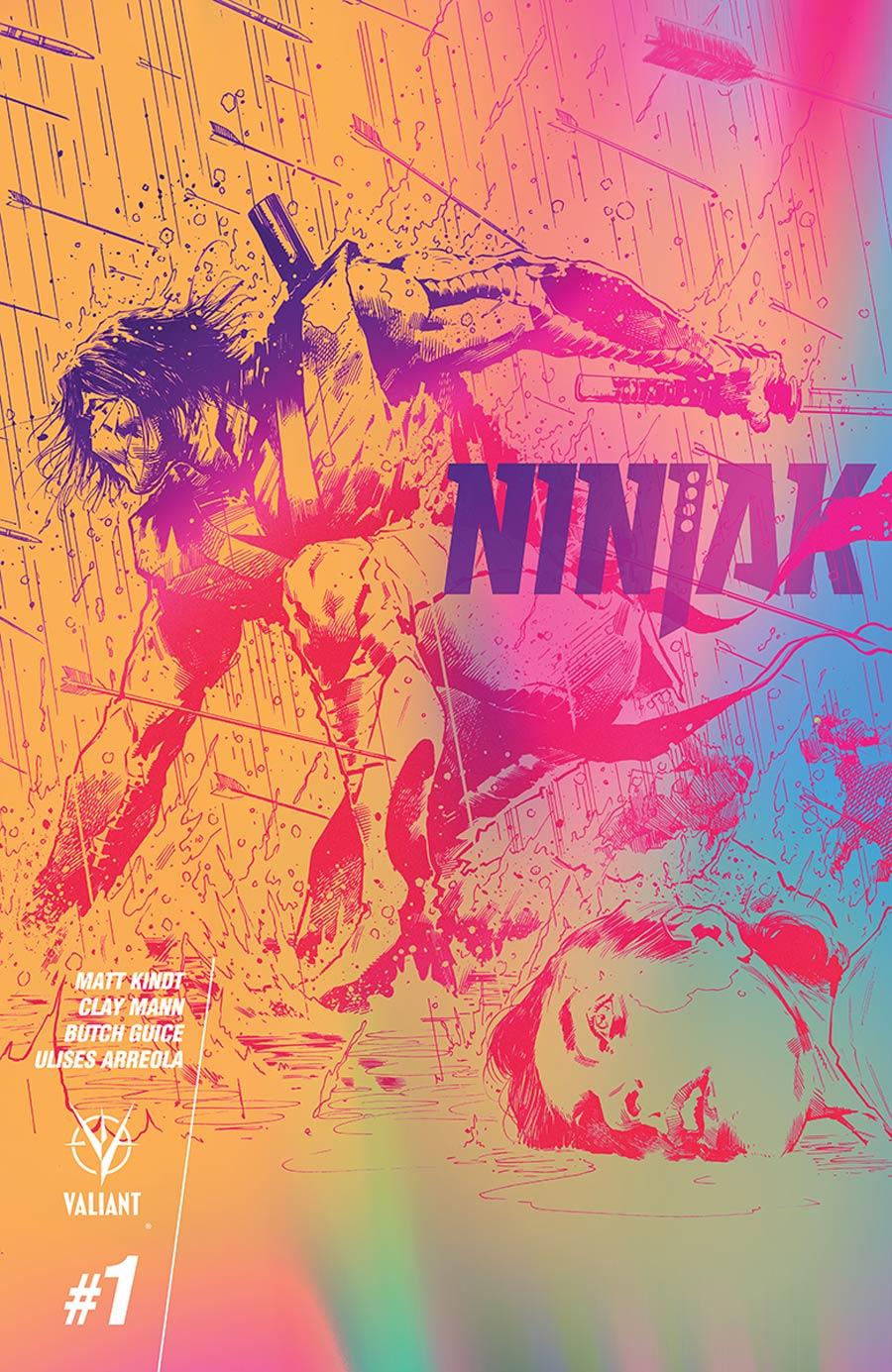 Ninjak Vol 3 #1 Cover G Incentive Trevor Hairsine & Tom Muller Valiant Next Variant Cover