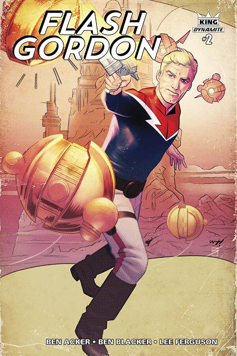 King Flash Gordon #2 Cover C Incentive Wilfredo Torres Color Variant Cover