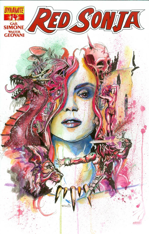 Red Sonja Vol 5 #14 Cover F Matt Brooks Contest Winner Edition