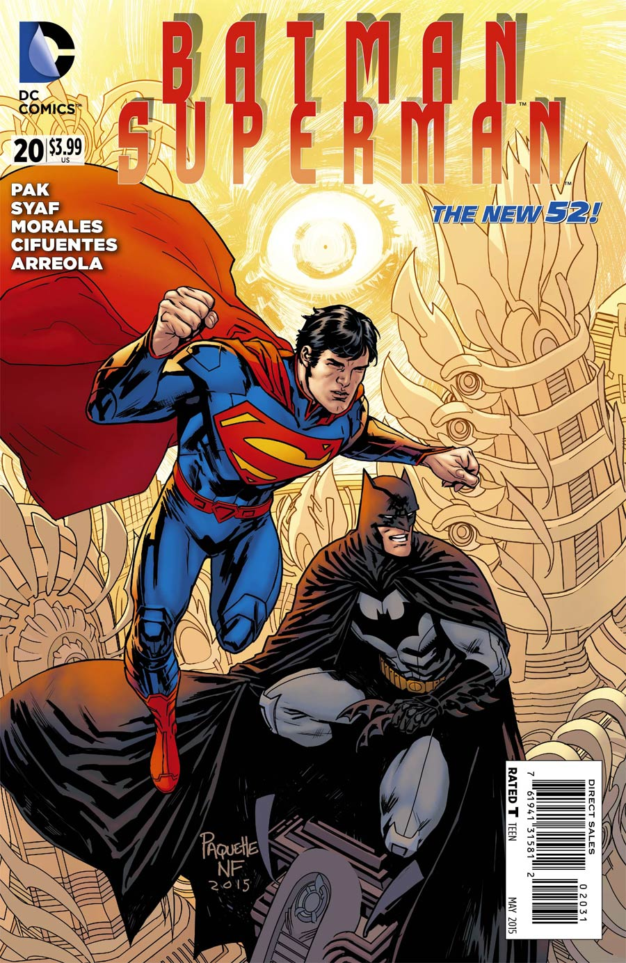 Batman Superman #20 Cover E Incentive Yanick Paquette Variant Cover