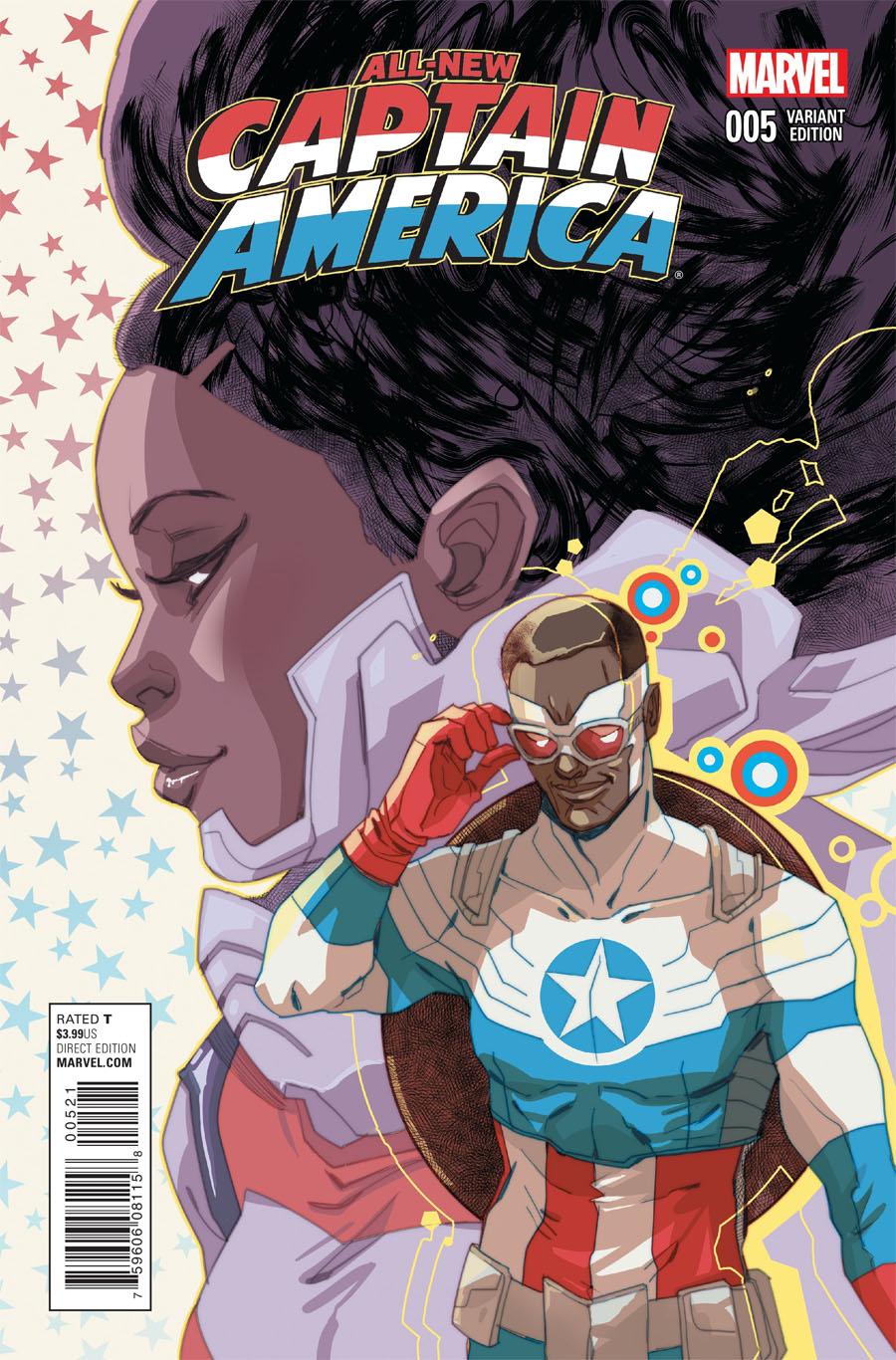 All-New Captain America #5 Cover B Variant Women Of Marvel Cover