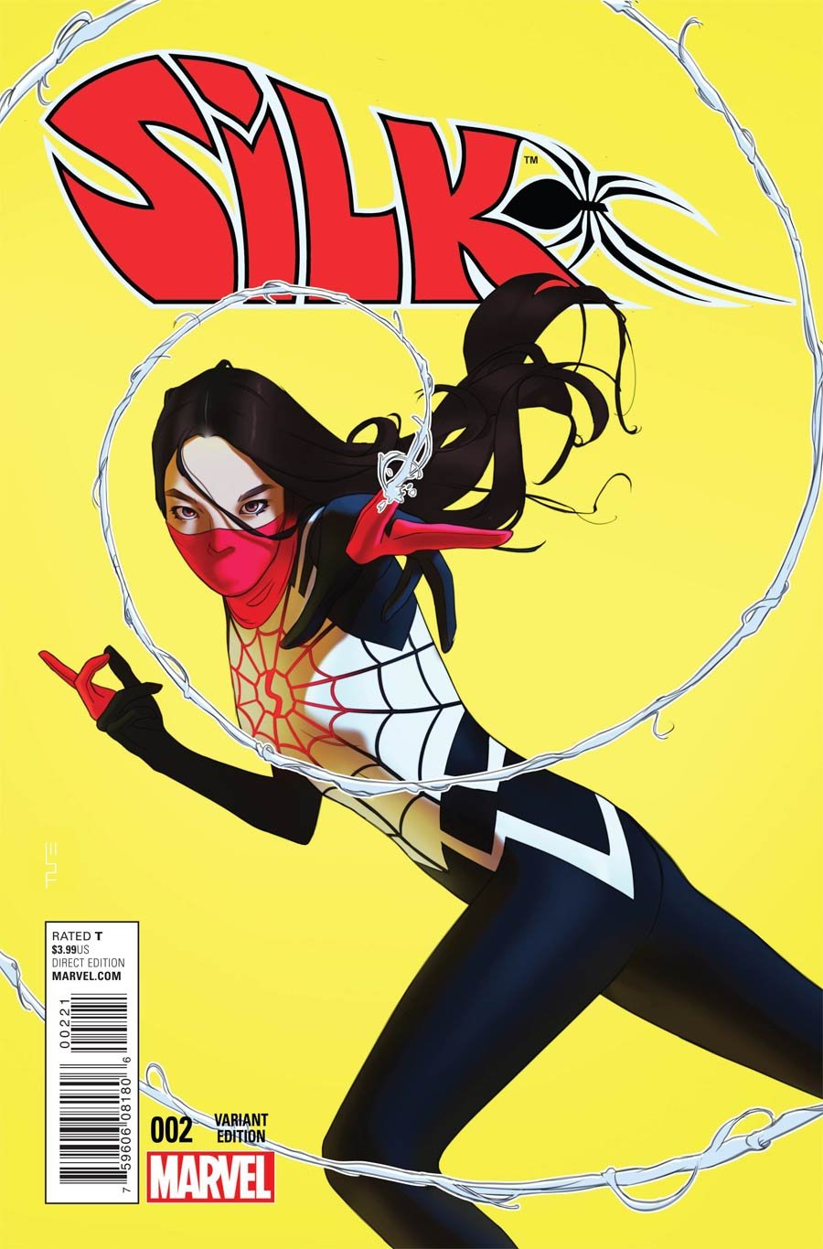 Silk #2 Cover B Incentive W Scott Forbes Variant Cover