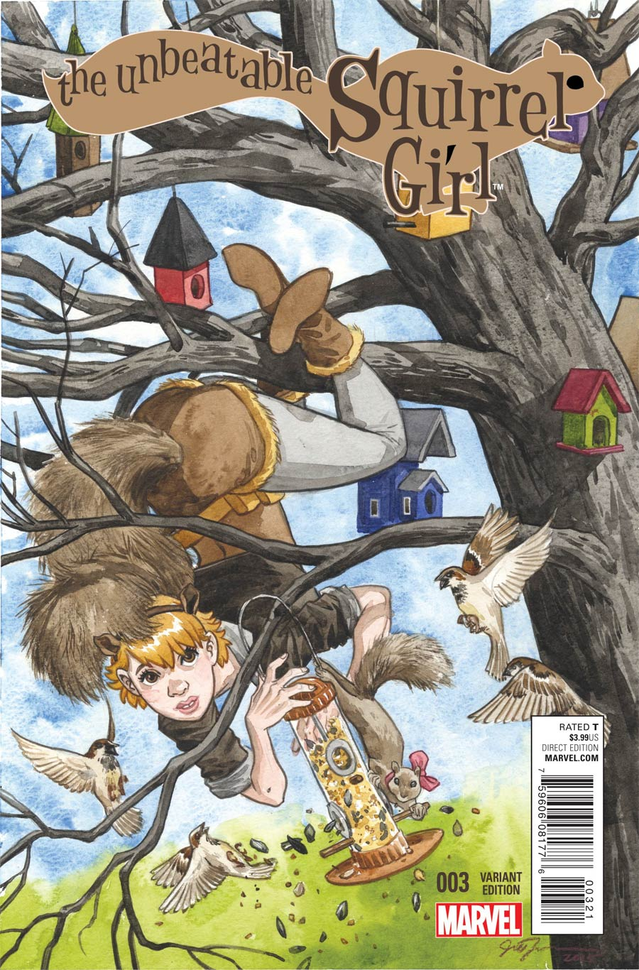 Unbeatable Squirrel Girl #3 Cover C Incentive Jill Thompson Variant Cover