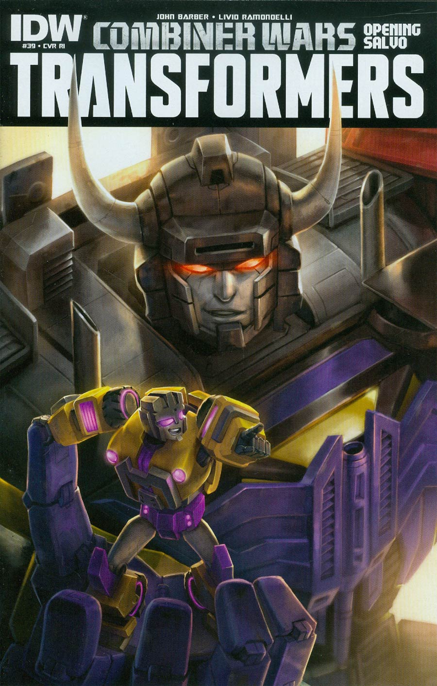 Transformers Vol 3 #39 Cover D Incentive Sara Pitre-Durocher Variant Cover (Combiner Wars Opening Salvo)