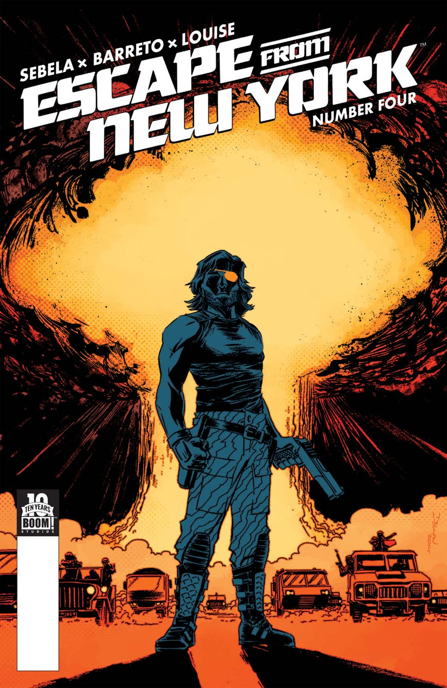 Escape From New York #4 Cover A Regular Declan Shalvey Cover