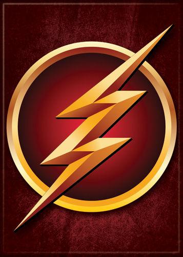 DC Comics 2.5x3.5-inch Magnet - Flash TV Lightning Logo (71561DC)