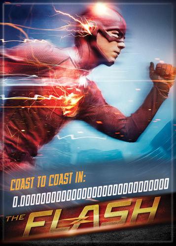 DC Comics 2.5x3.5-inch Magnet - Flash TV Coast To Coast (71563DC)