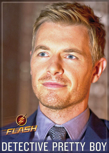 DC Comics 2.5x3.5-inch Magnet - Flash TV Detective Pretty Boy (71564DC)