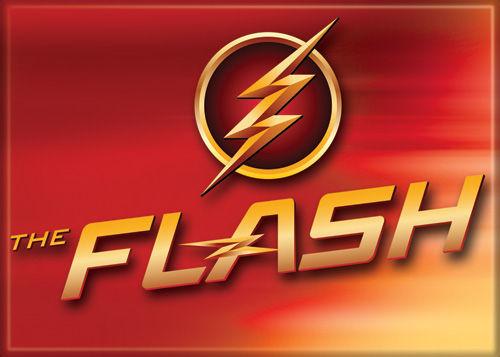 DC Comics 2.5x3.5-inch Magnet - Flash TV Logo And Name (71566DC)