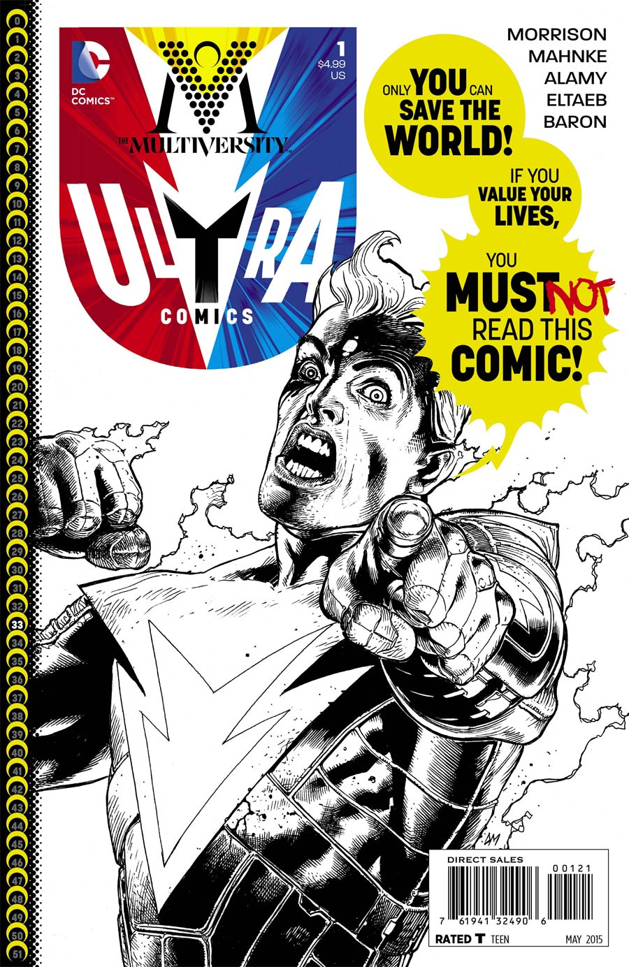 Multiversity Ultra Comics #1 Cover B Incentive Doug Mahnke Sketch Cover