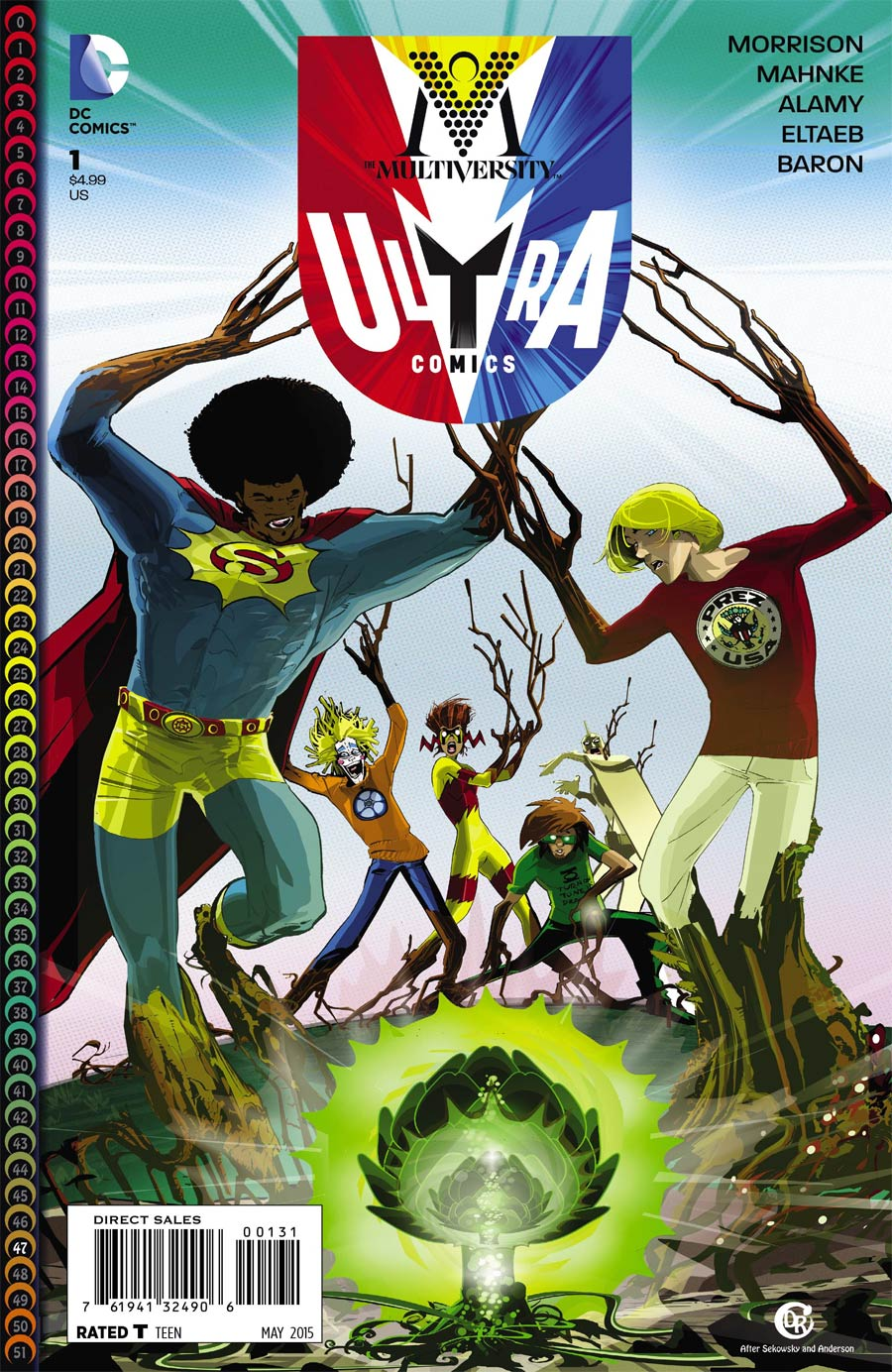 Multiversity Ultra Comics #1 Cover C Incentive Duncan Rouleau Variant Cover