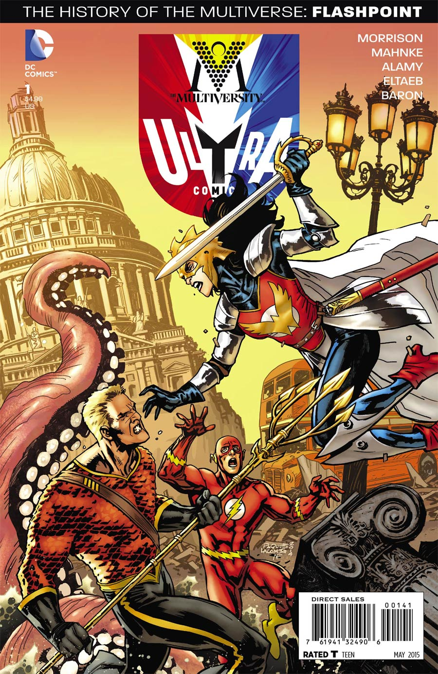 Multiversity Ultra Comics #1 Cover D Incentive Yanick Paquette Variant Cover