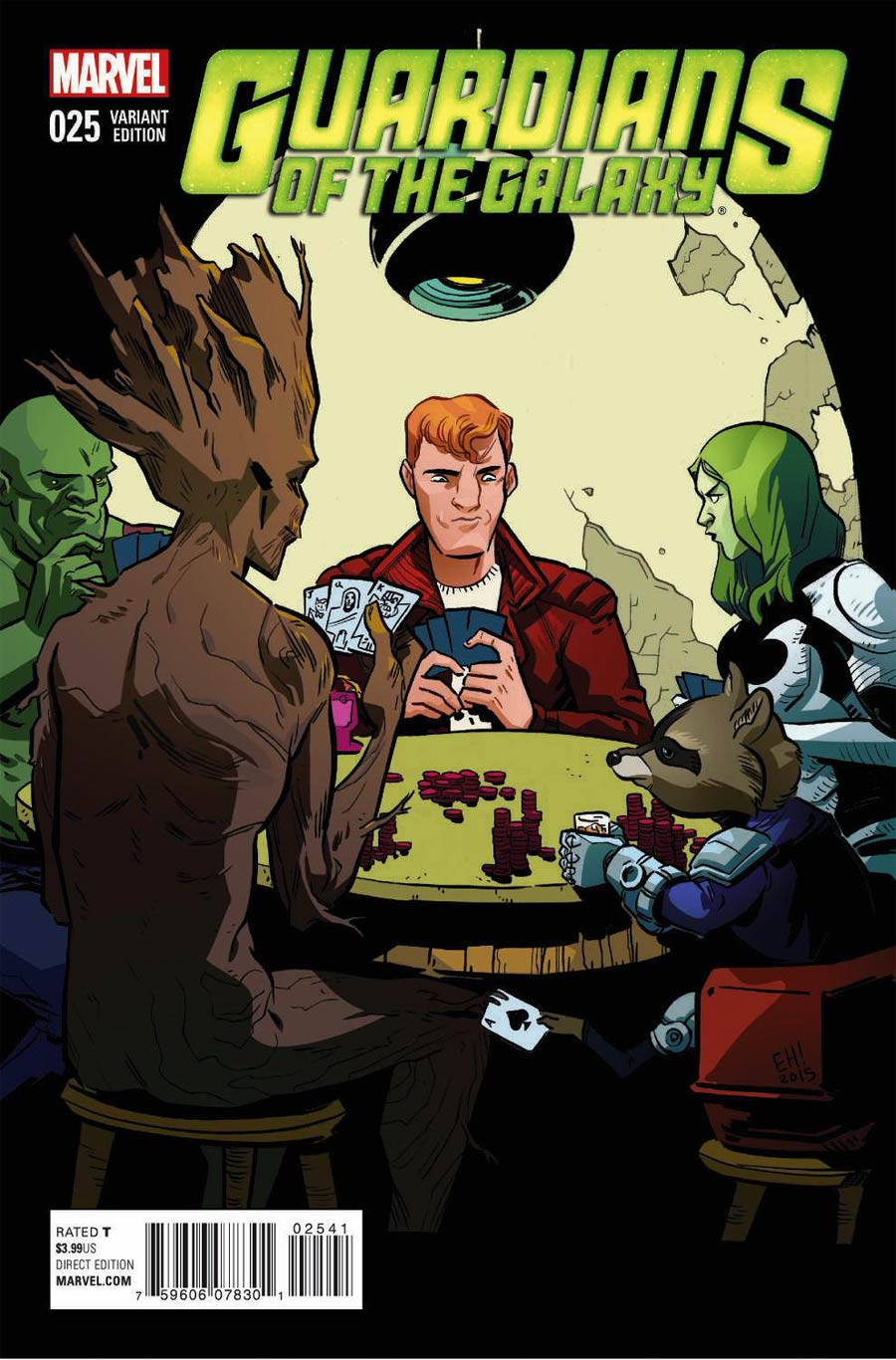 Guardians Of The Galaxy Vol 3 #25 Cover B Variant Women Of Marvel Cover (Black Vortex Part 7)