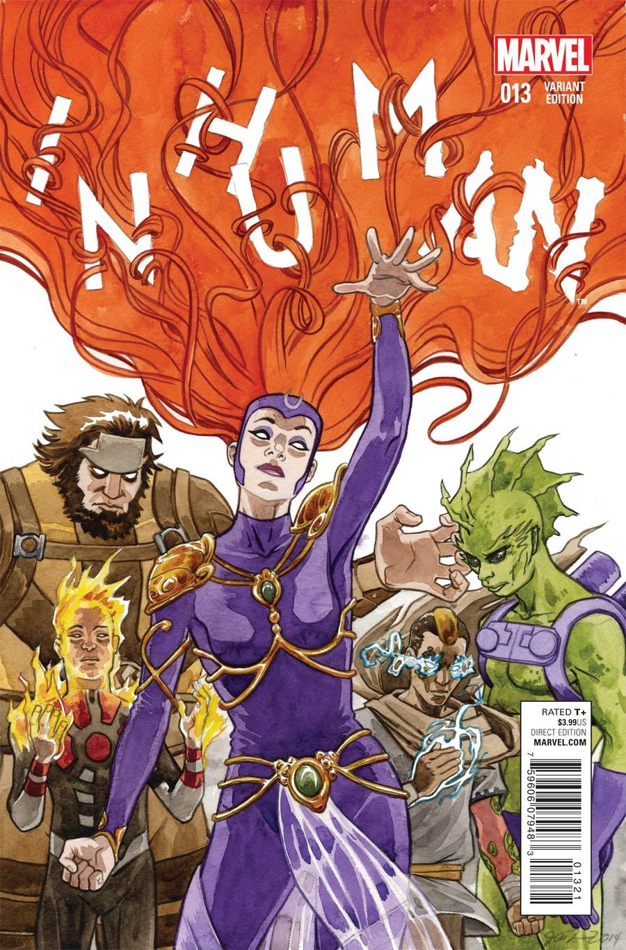 Inhuman #13 Cover B Variant Women Of Marvel Cover