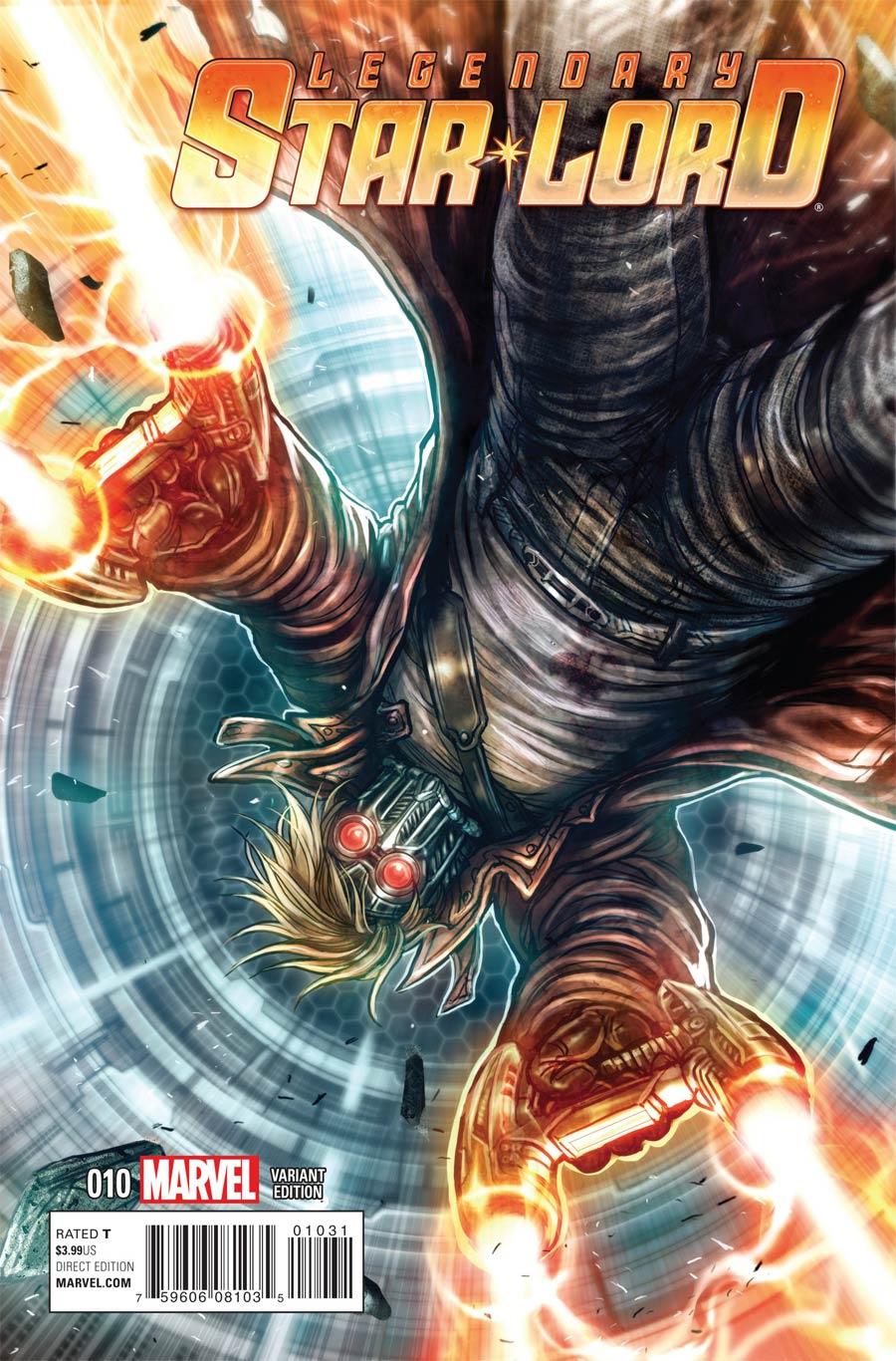 Legendary Star-Lord #10 Cover B Variant Women Of Marvel Cover (Black Vortex Part 9)