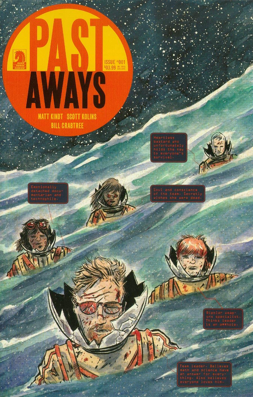 Pastaways #1 Cover B Variant Matt Kindt Cover