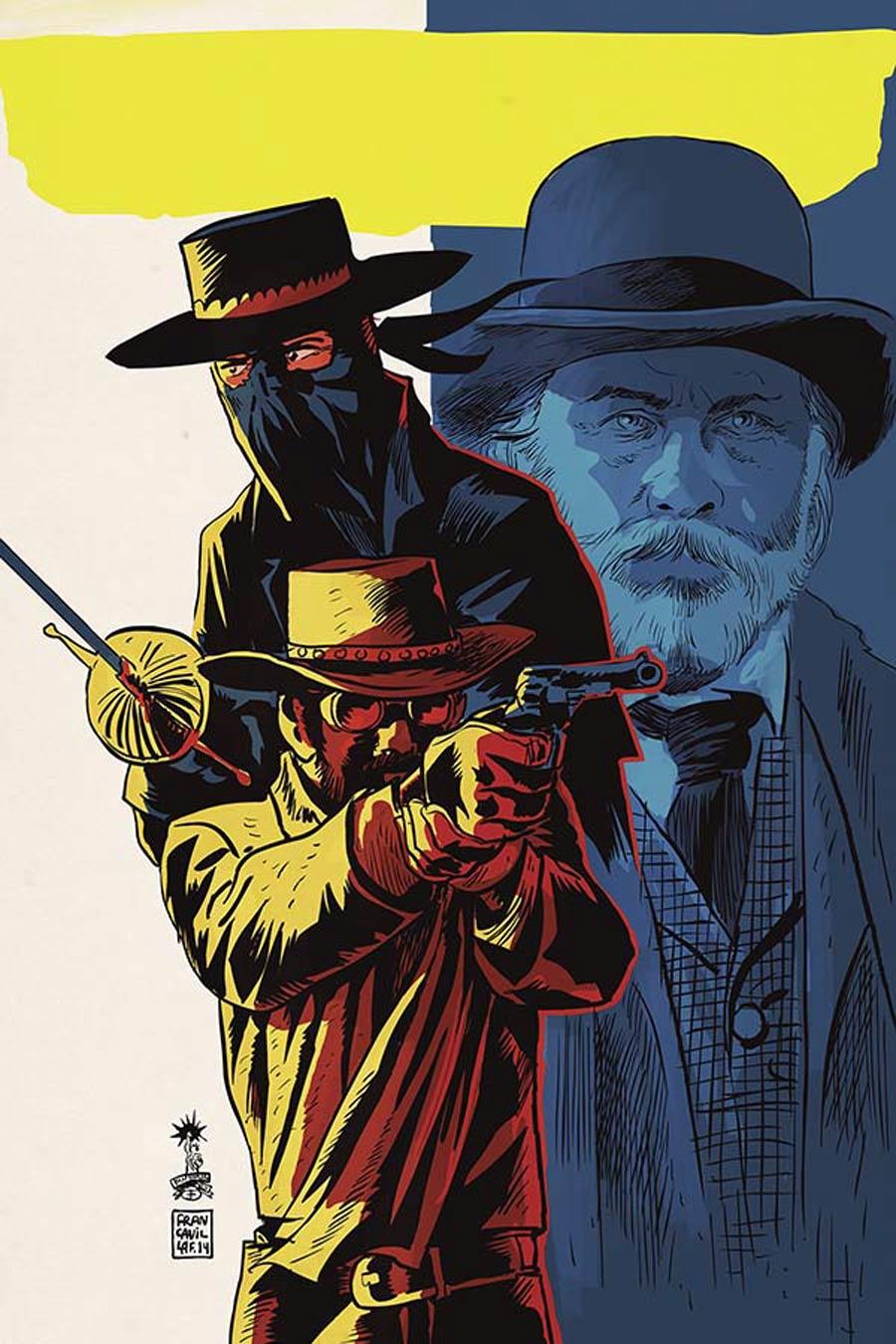 Django Zorro #5 Cover D Incentive Francesco Francavilla Virgin Cover