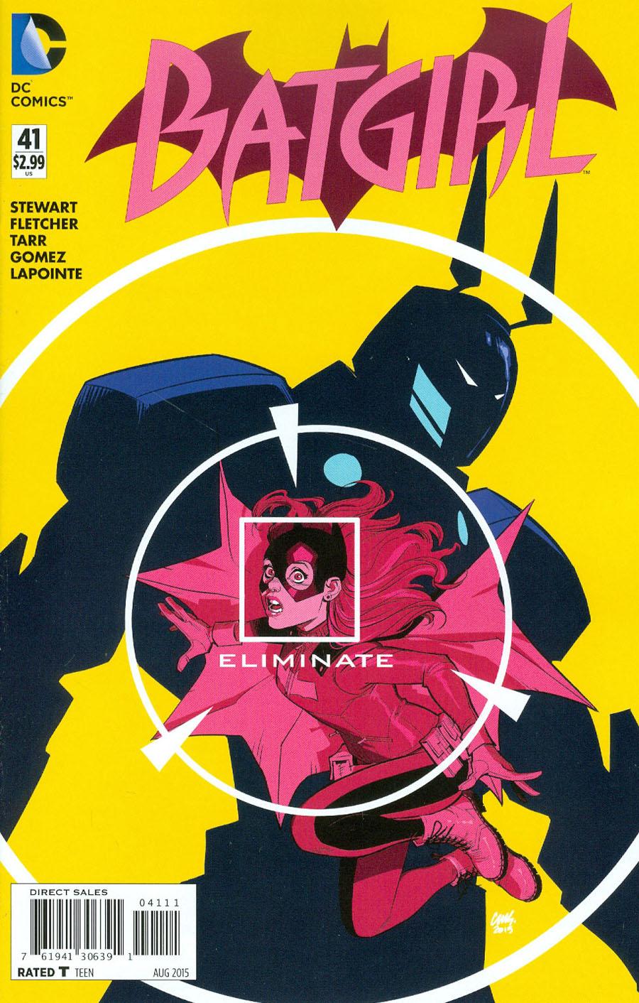 Batgirl Vol 4 #41 Cover A 1st Ptg
