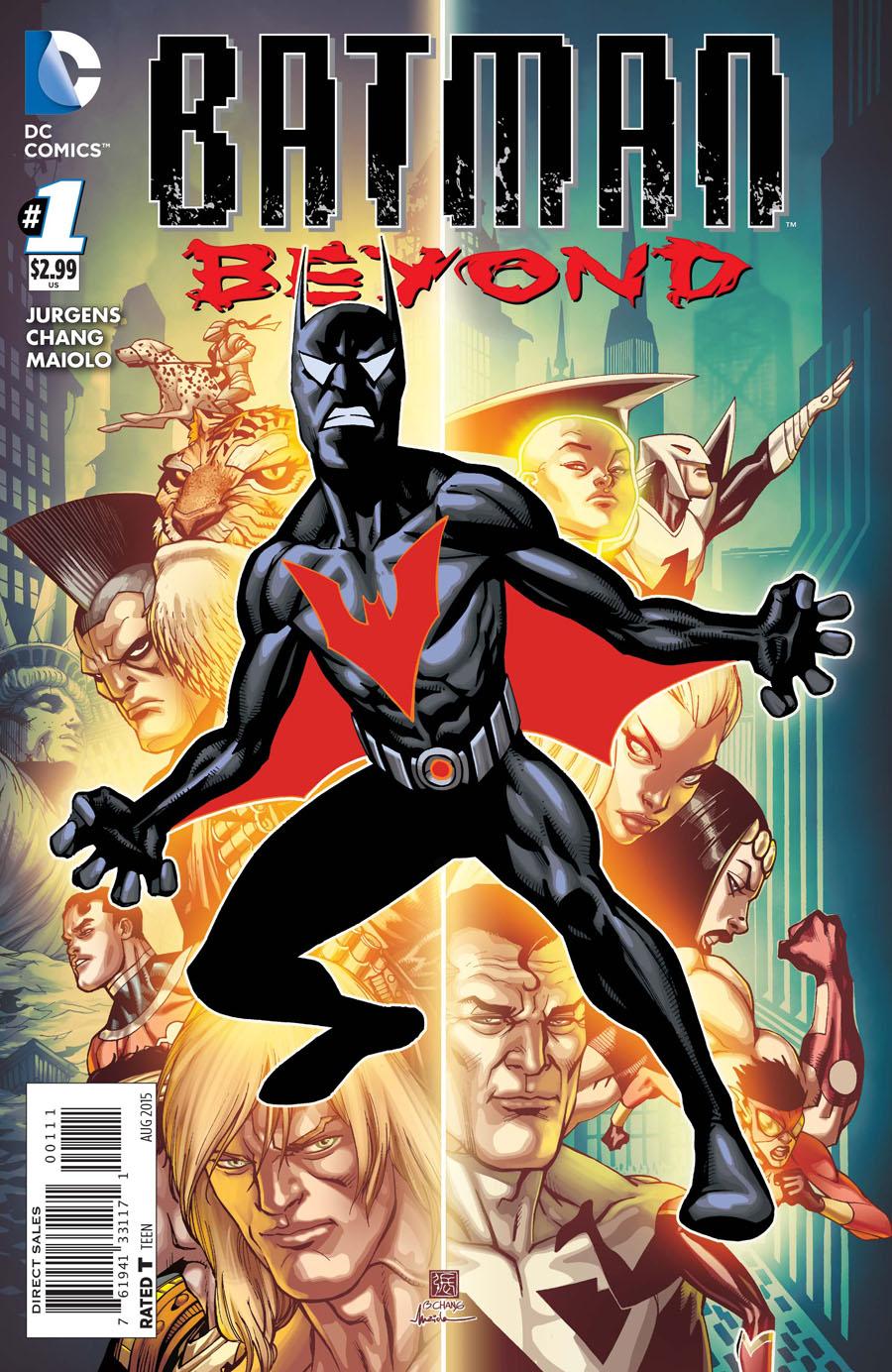 Batman Beyond Vol 5 #1 Cover A Regular Bernard Chang Cover