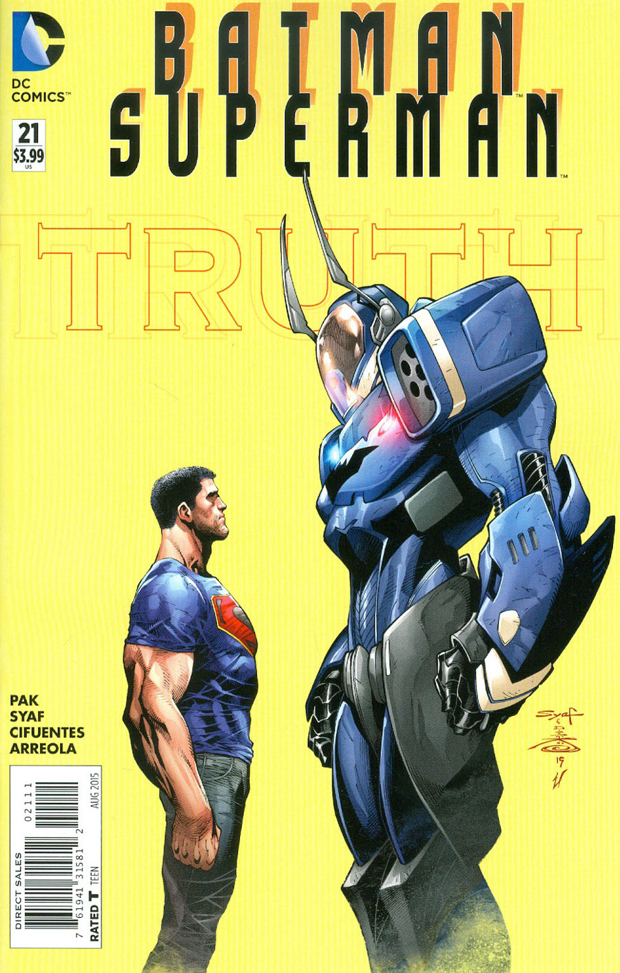 Batman Superman #21 Cover A Regular Ardian Syaf Cover