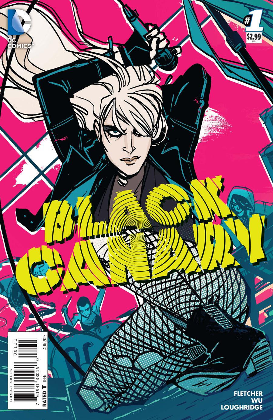 Black Canary Vol 4 #1 Cover A Regular Annie Wu Cover