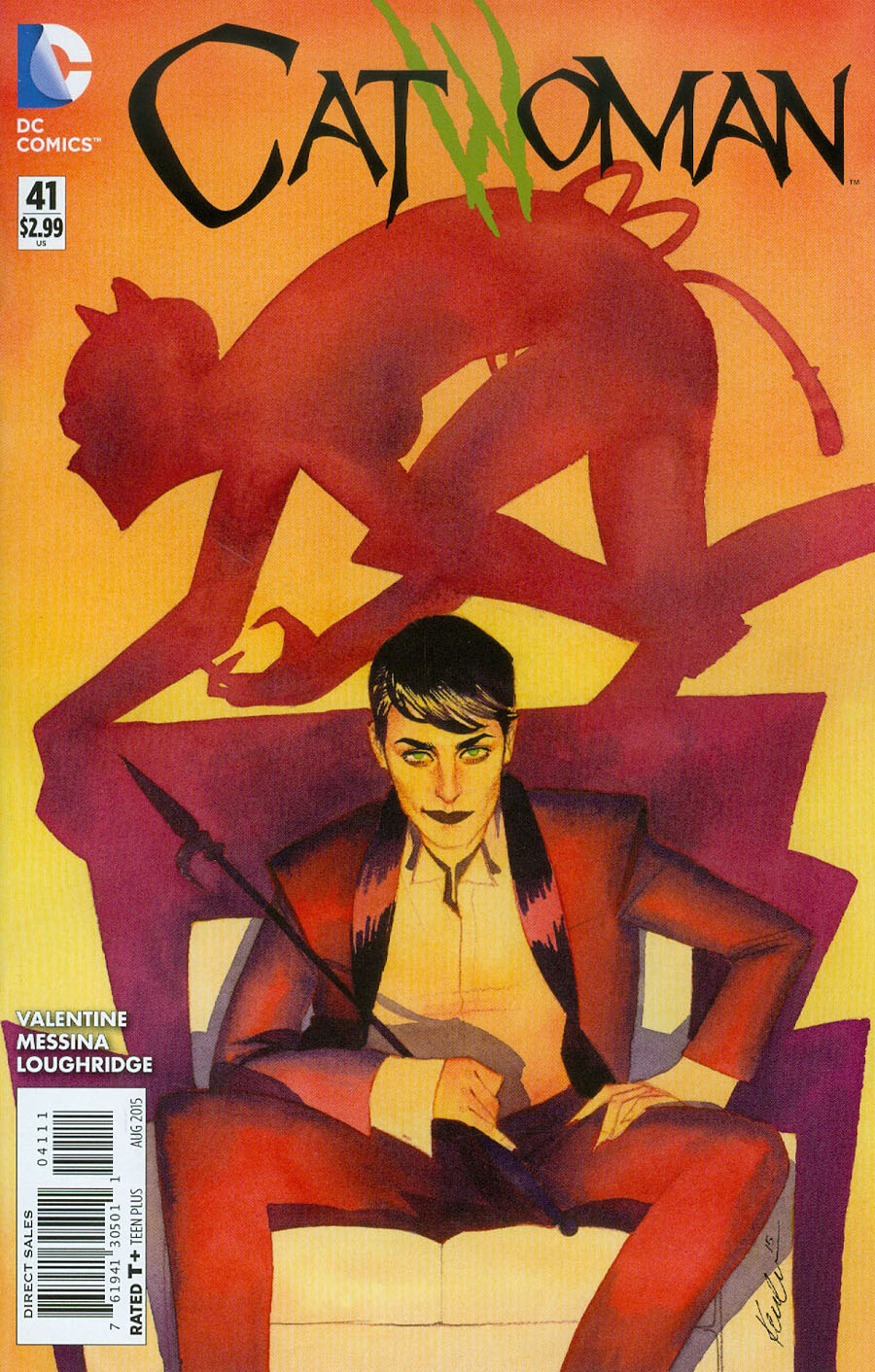 Catwoman Vol 4 #41 Cover A Regular Kevin Wada Cover