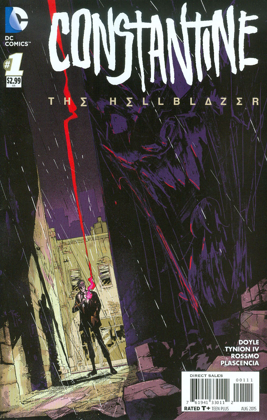 Constantine The Hellblazer #1 Cover A 1st Ptg Regular Riley Rossmo Cover