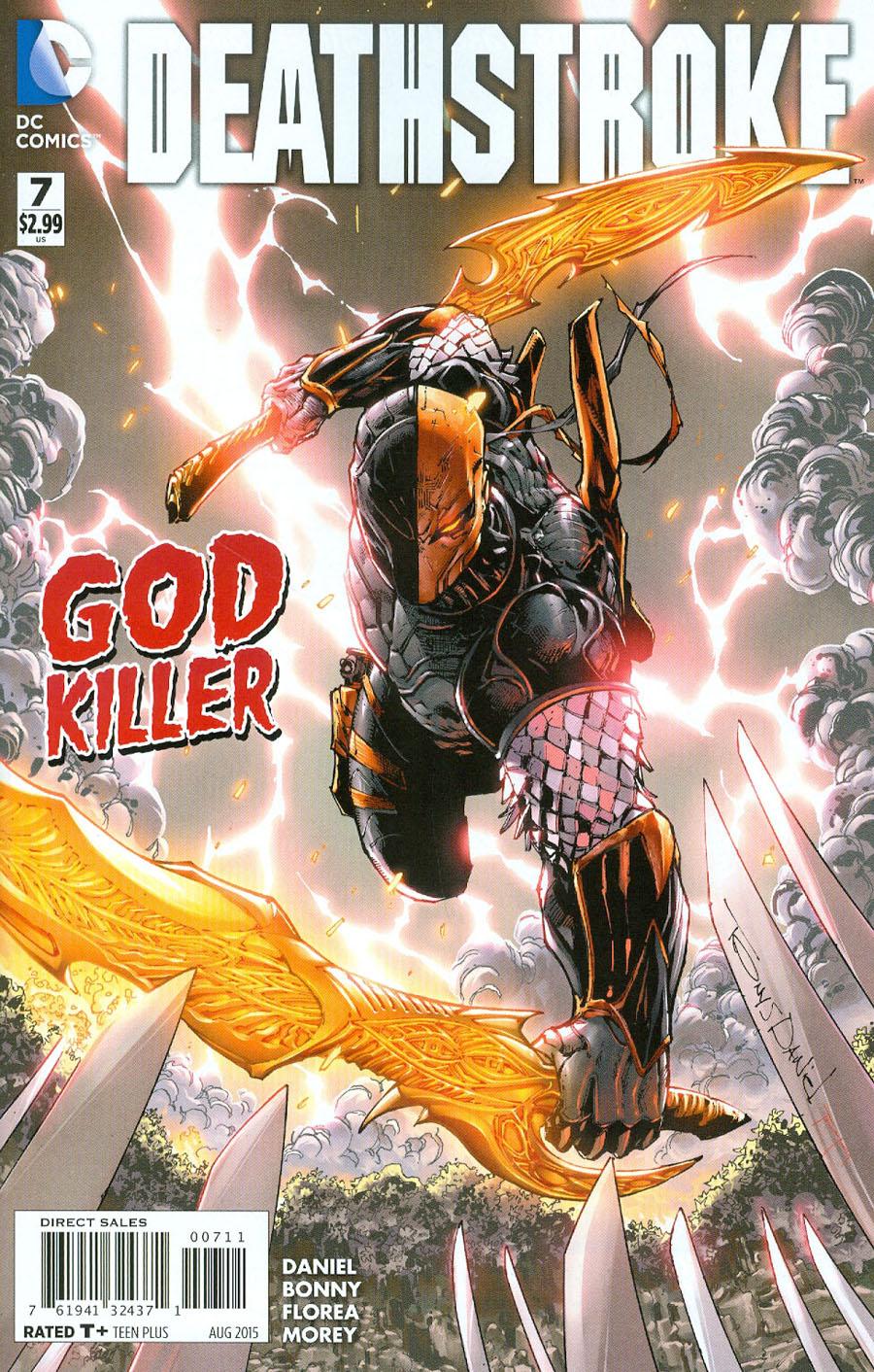 Deathstroke Vol 3 #7 Cover A Regular Tony S Daniel Cover