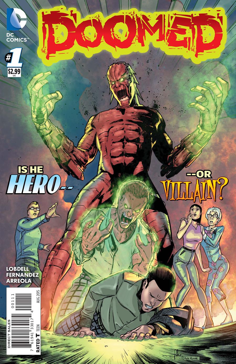 Doomed #1 Cover A Regular Javier Fernandez Cover