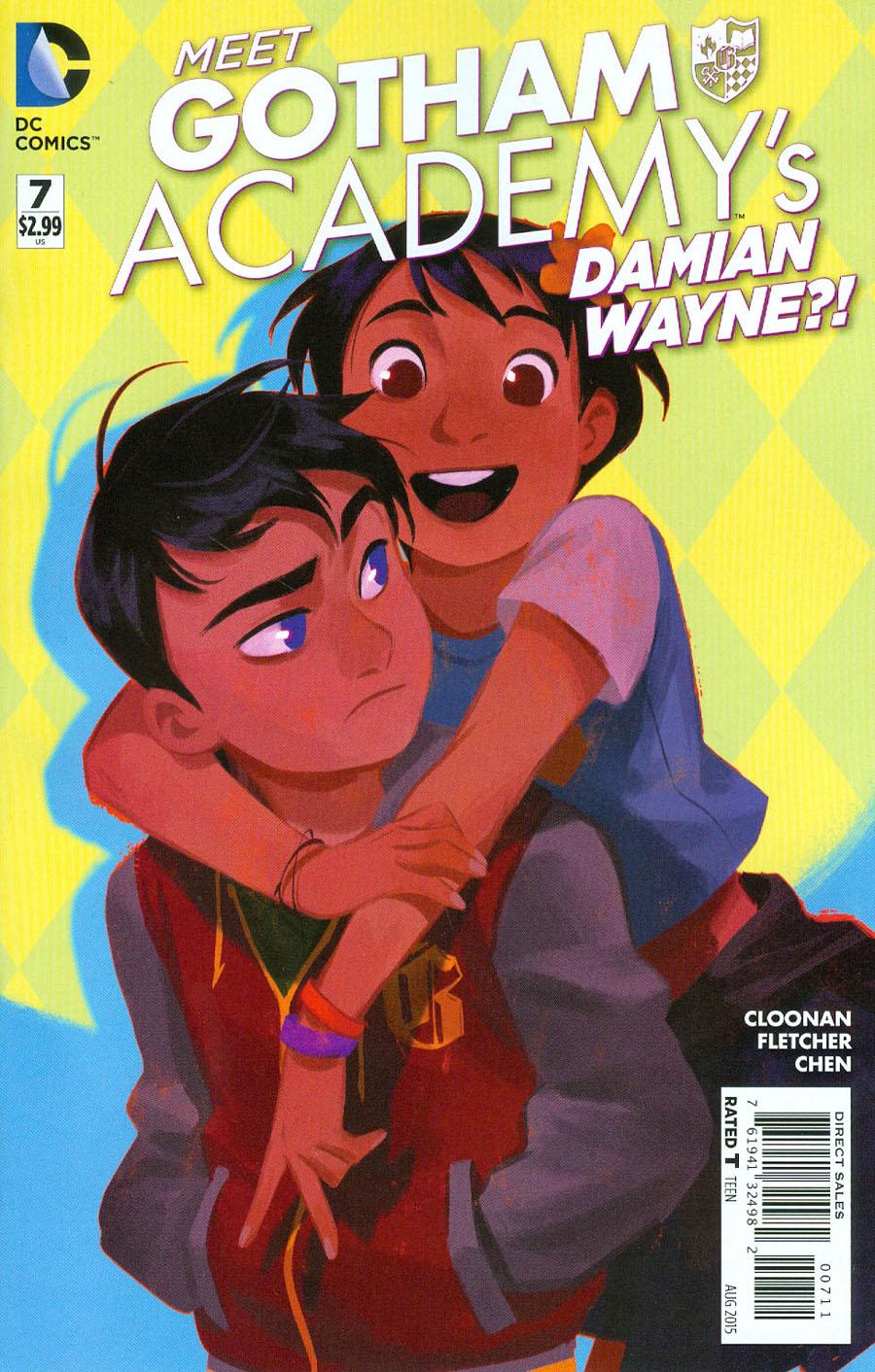 Gotham Academy #7 Cover A Regular Becky Cloonan Cover